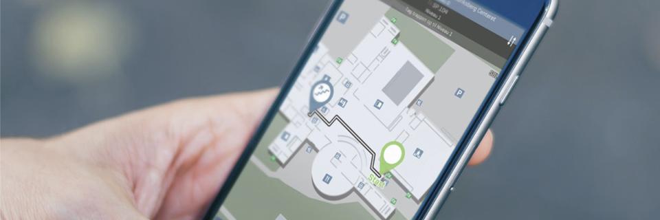 2D-Leitsysteme können nicht nur zur einfach Wegeleitung (Wayfinding) bzw. Navigation Ihrer Besucher eingesetzt werden, sondern auch zu effizienten Raumplanung.