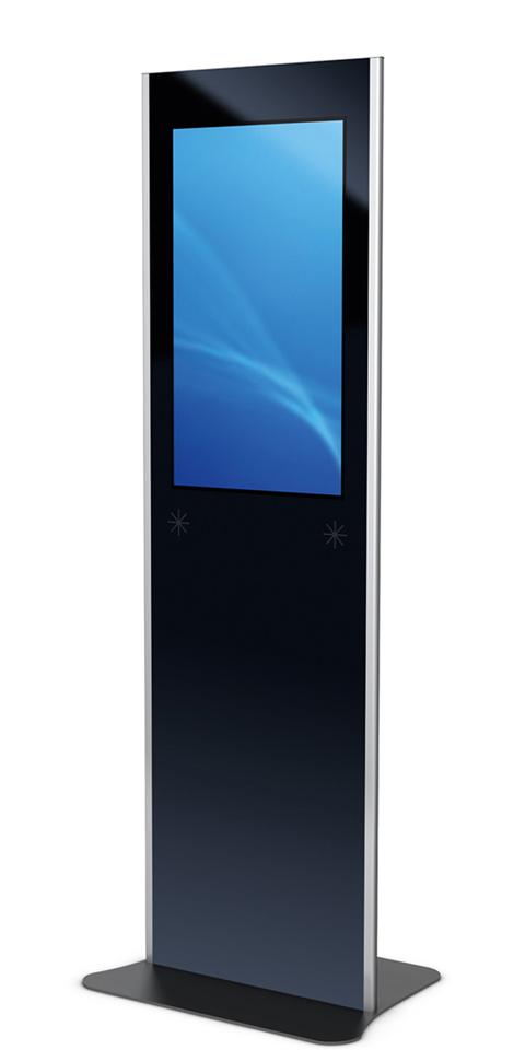 Kiosksysteme und digitale Monitorstelen aus dem System PHEX zeichnen sich durch ihre hohe Flexibilität und ihre breiten Einsatzmöglichkeiten aus.