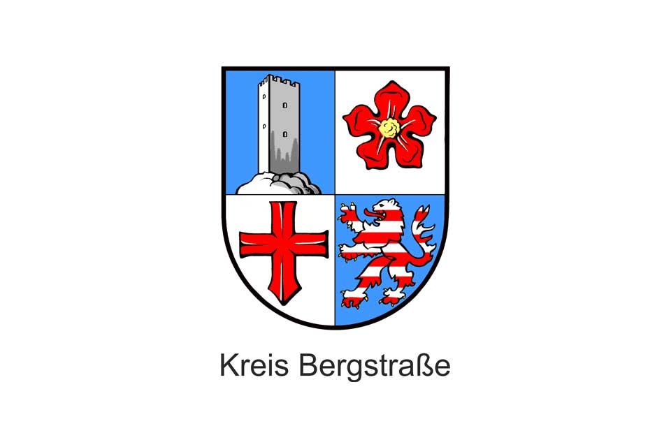 Logo des Kreis Bergstraße in Heppenheim bei Mannheim, Heidelberg und Darmstadt und im Herzen der Regionen Rhein-Main und Rhein-Neckar.