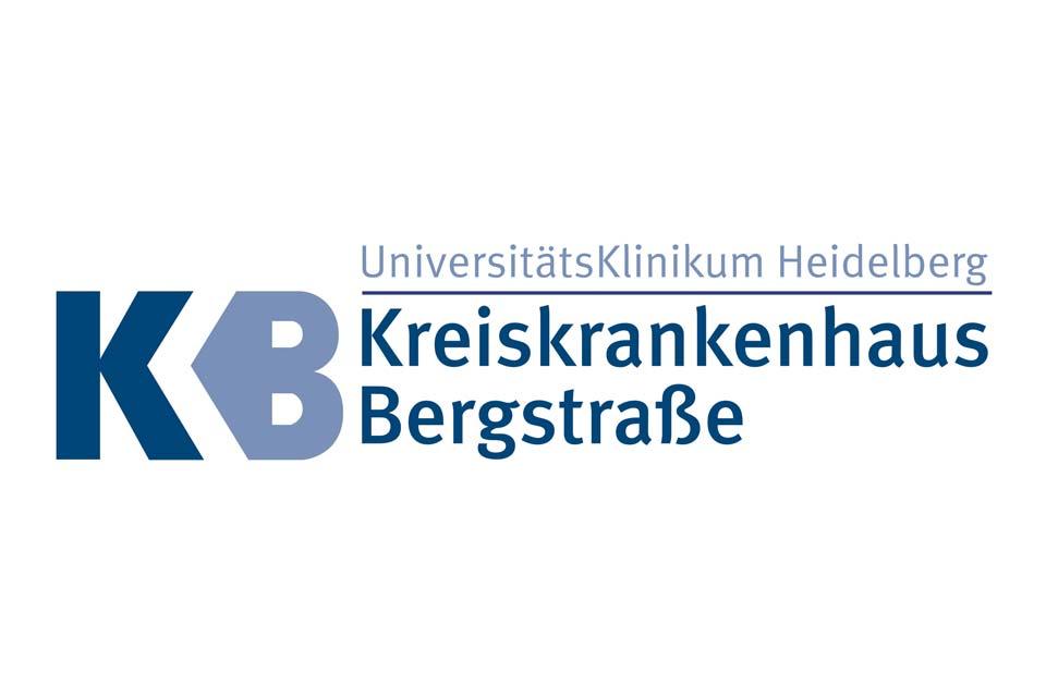 Logo des Kreiskrankenhaus Bergstraße in Heppenheim bei Mannheim, Heidelberg und Darmstadt und im Herzen der Regionen Rhein-Main und Rhein-Neckar.