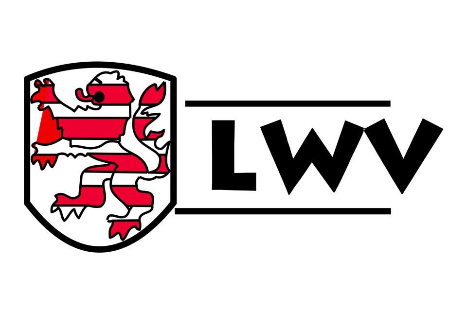 Logo des Klinikums des Landeswohlfahrtverbands Hessen in Weilmünster bei Limburg an der Lahn, Gießen und Frankfurt am Main.