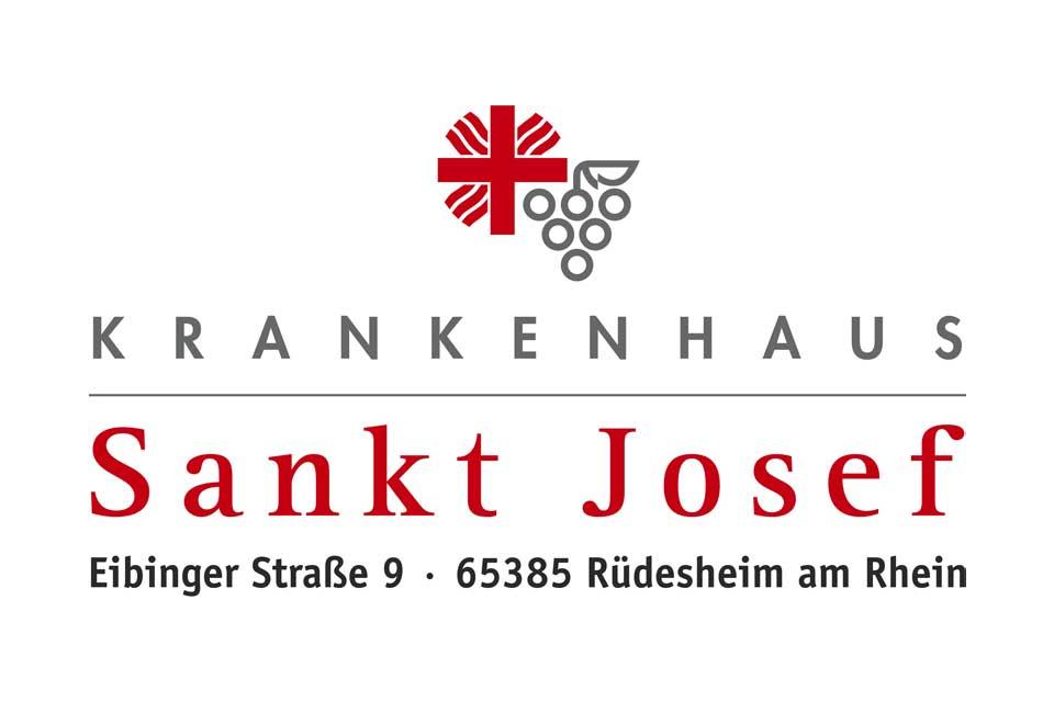Logo des Sankt Josef Krankenhaus in Rüdesheim am Rhein bei Mainz, Wiesbaden und Koblenz.