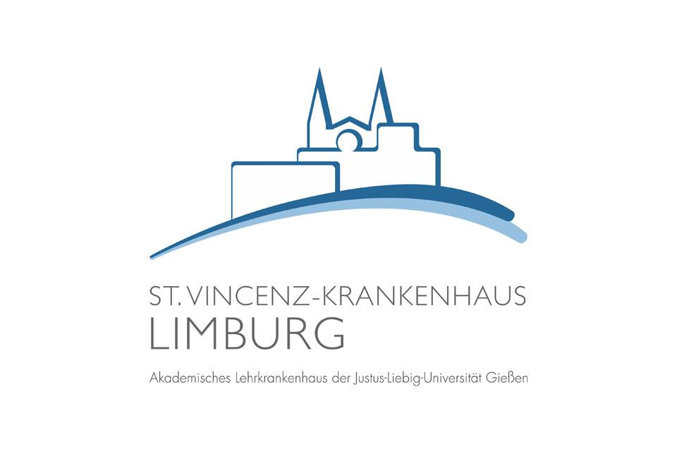 Logo des St. Vincenz Krankenhaus in Limburg an der Lahn bei Gießen, Frankfurt am Main und Koblenz.