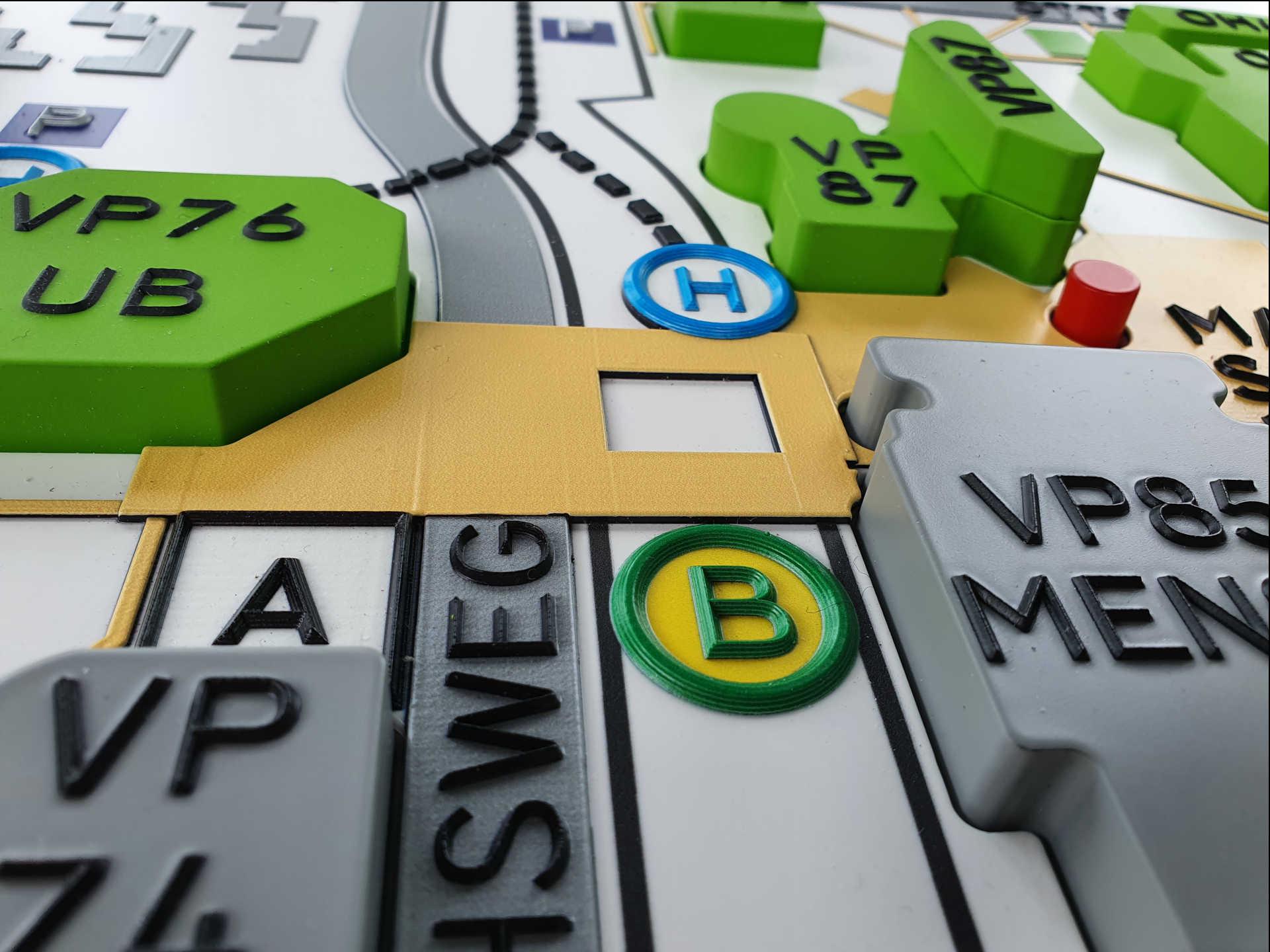 Beispielfoto 03 für barrierefreie Leitsysteme, taktile Informationssyteme, Wegeleitsysteme für Blinde. Foto: InForm, taktilPlan: Taktile Informationssysteme & Wegeleitsysteme.